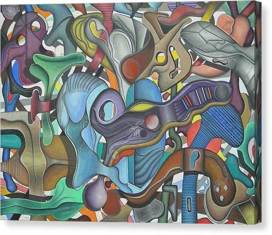 Kieko Alteration #3 Canvas Print