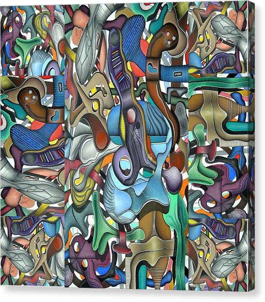 Kieko Alteration Canvas Print