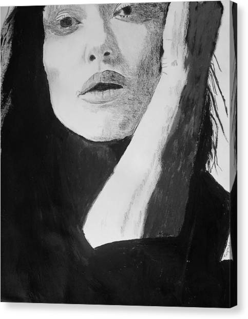 Kiera Knightley Canvas Print by Dan Twyman