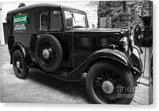 Kilbeggan Distillery's Old Car Canvas Print