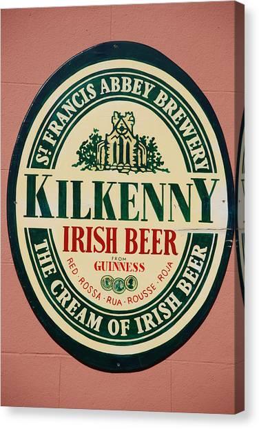 Kilkenny Irish Beer Canvas Print