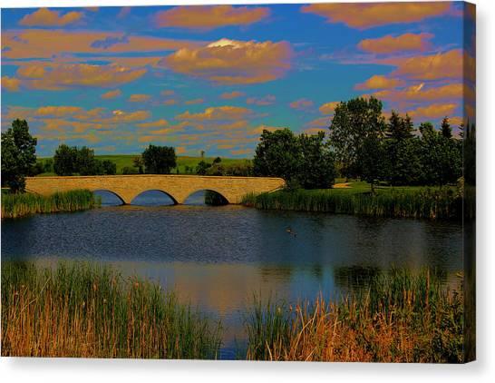 Kilkona Park Bridge Canvas Print