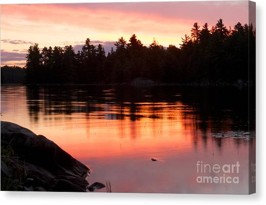 Killarney Sunrise Canvas Print