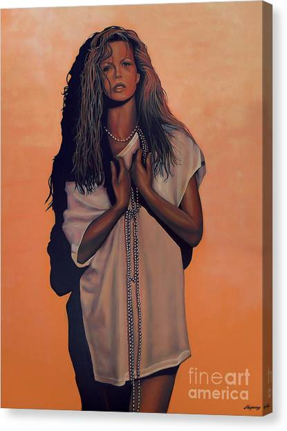 Kim Canvas Print - Kim Basinger by Paul Meijering