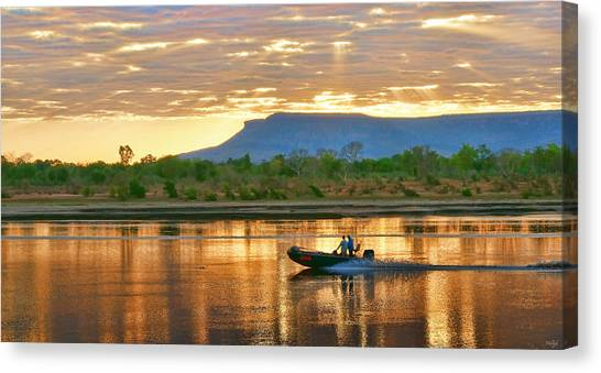 Canvas Print - Kimberley Dawning by Holly Kempe