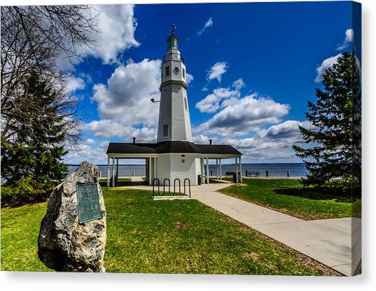 Kimberly Point Lighthouse Canvas Print