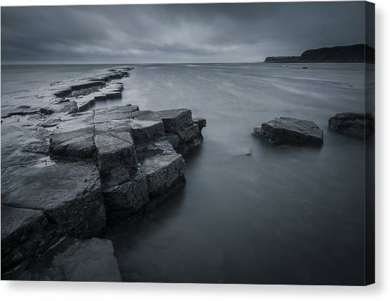 Kimmeridge Gray Canvas Print