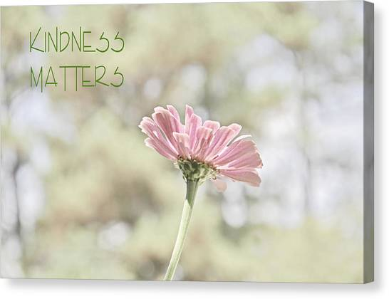 Kindness Matters Canvas Print