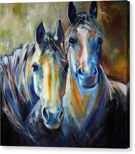 Kindred Souls Equine Canvas Print