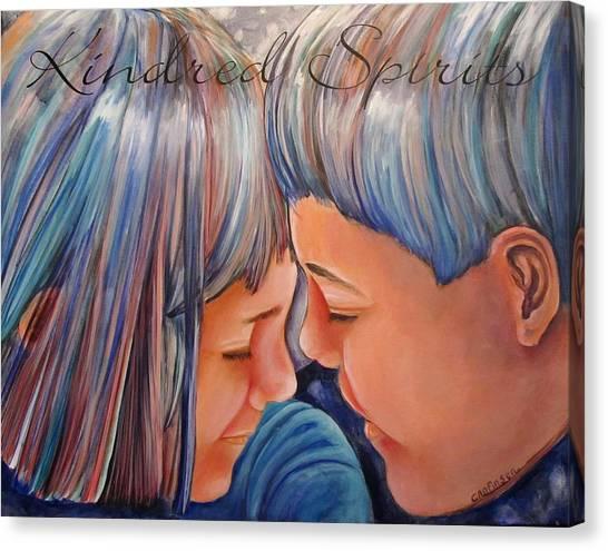 Kindred Spirits II Canvas Print