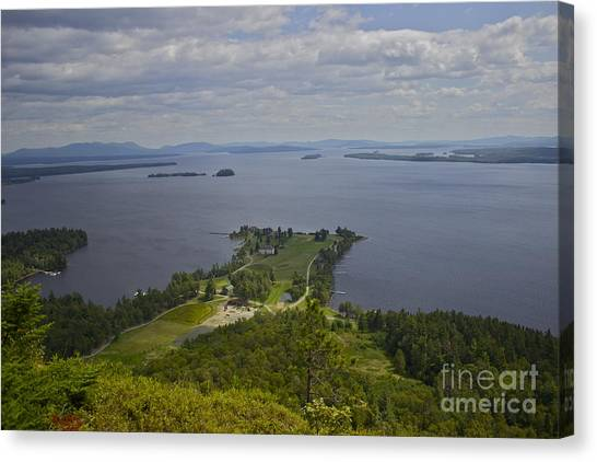 Kineo View Canvas Print