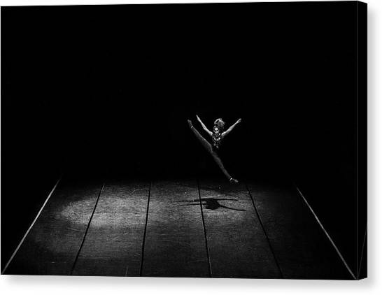 Acrobatic Canvas Print - Kinetic by Nemanja Jovanovic