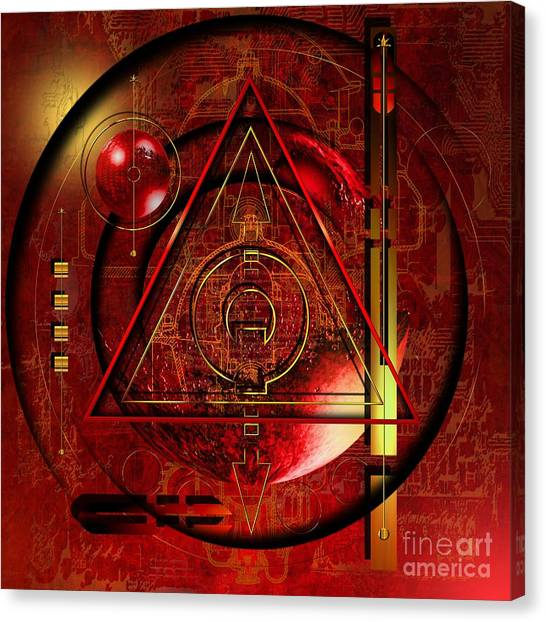 Imaginative Canvas Print - King Crimson by Franziskus Pfleghart