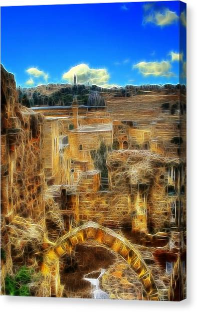 Peaceful Israel Canvas Print