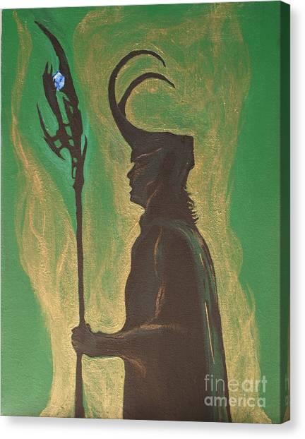 King Loki Canvas Print