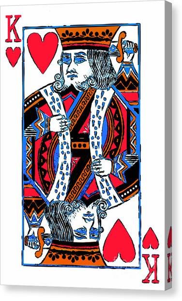 King Of Hearts 20140301 Canvas Print