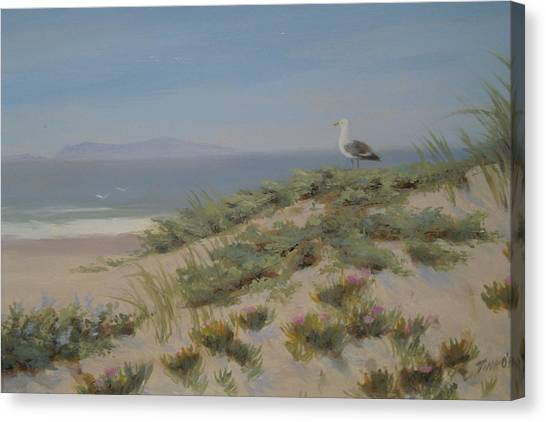 King Of The Beach Canvas Print by Tina Obrien