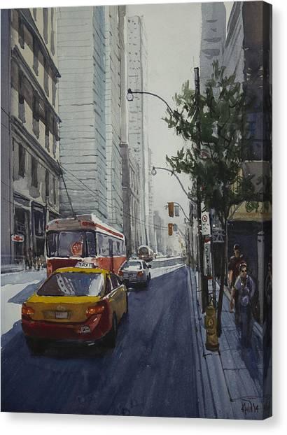 King Street 01 Canvas Print