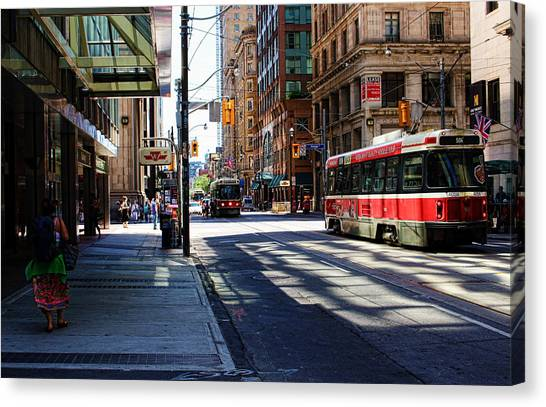 King Street East Canvas Print