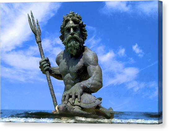 King Triton Canvas Print
