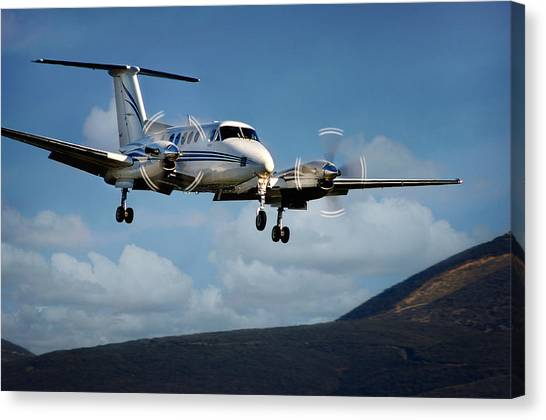 Kingair Canvas Print