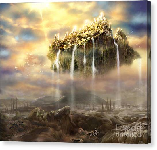Prophetic Art Canvas Print - Kingdom Come by Tamer and Cindy Elsharouni
