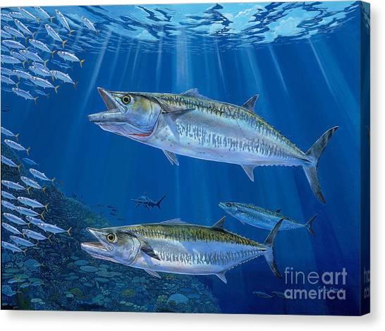Yamaha Canvas Print - Kingfish Reef by Carey Chen