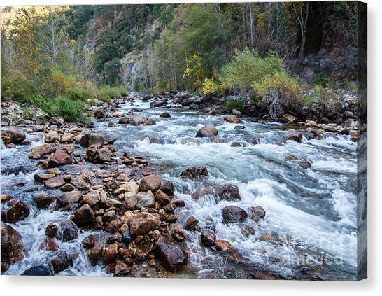 Kings River 1-7818 Canvas Print by Stephen Parker
