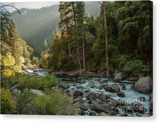 Kings River 1-7824 Canvas Print