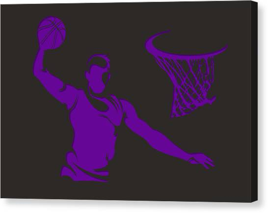 Sacramento Kings Canvas Print - Kings Shadow Player1 by Joe Hamilton
