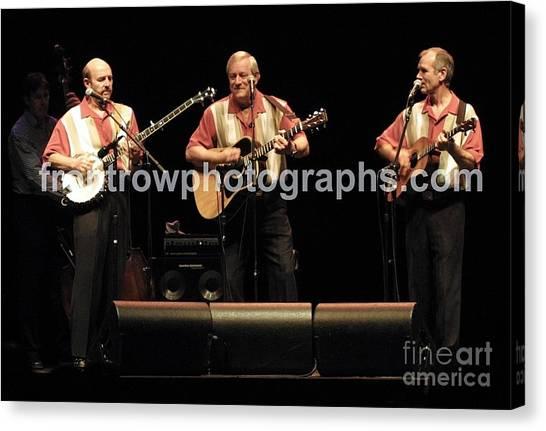 Folk Singer Canvas Print - Kingston Trio by Concert Photos