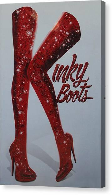 Kinky Boots Canvas Print