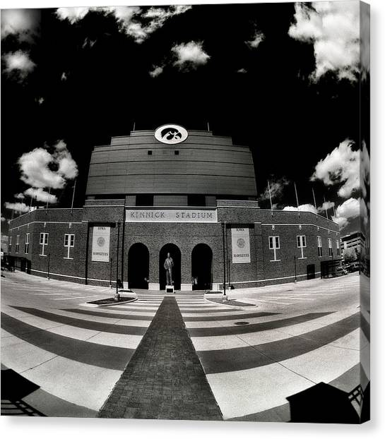 Kinnick Stadium Canvas Print
