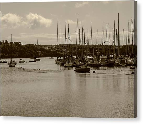 Kinsale Harbor At Dusk Canvas Print