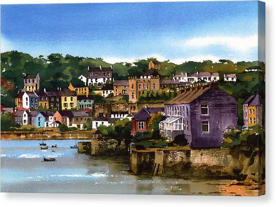 Kinsale Harbour West Cork Canvas Print