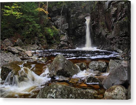 Kinsmans Falls Canvas Print