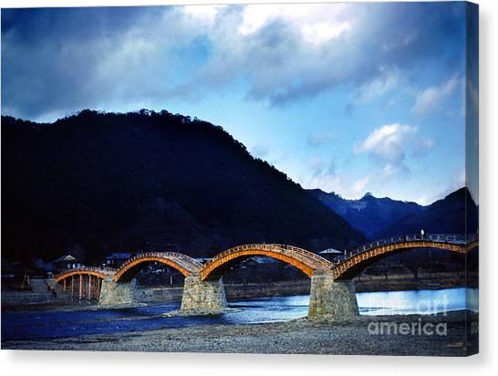 Kintai Bridge Japan Canvas Print