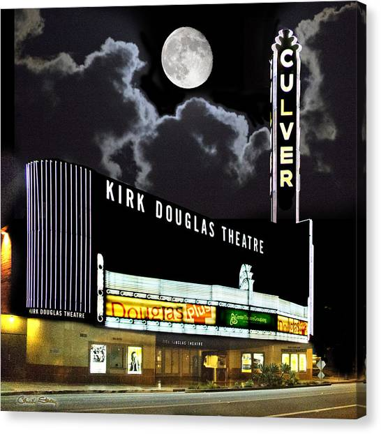 Kirk Douglas Theatre Canvas Print