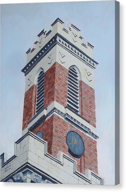 Vanderbilt University Canvas Print - Kirkland Tower II by Dillard Adams