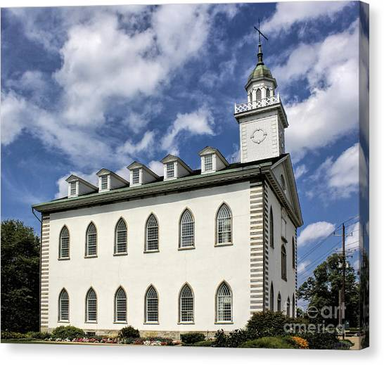 Kirtland Temple Canvas Print