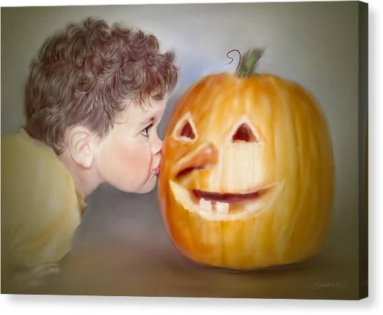 Kissy Face2 Canvas Print