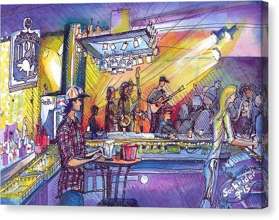 Kitchen Dwellers  Canvas Print
