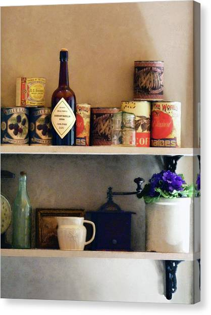 Kitchen Pantry Canvas Print