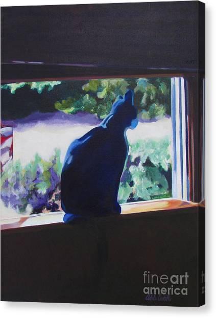 Kittycat Canvas Print