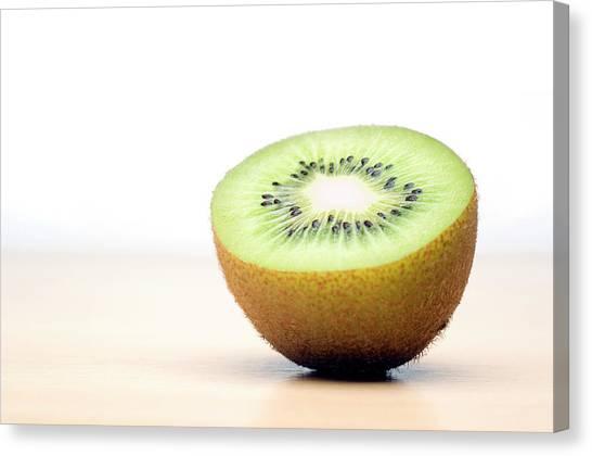 Kiwis Canvas Print - Kiwi Fruit by Daniel Sambraus/science Photo Library