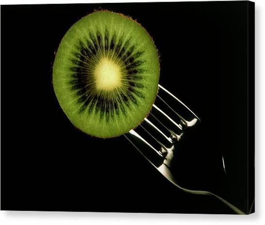 Kiwis Canvas Print - Kiwi Fruit by Th Foto-werbung/science Photo Library