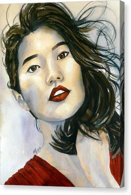 Kiyomi Canvas Print