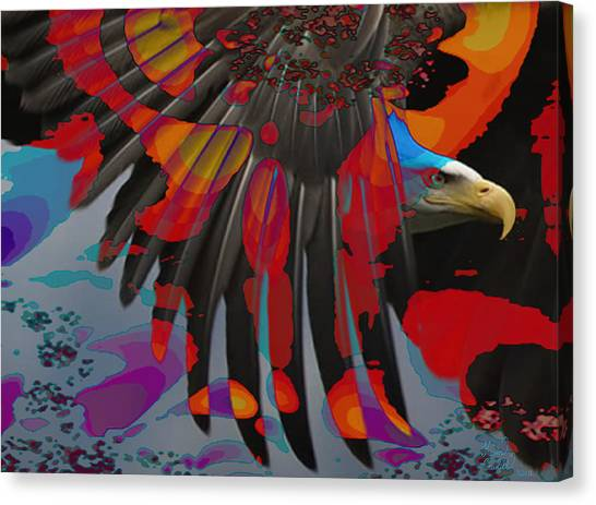 Knight Of The Sky Canvas Print