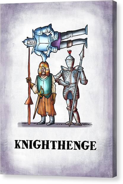 Knighthenge Canvas Print