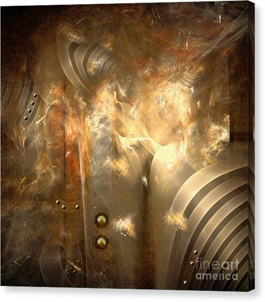 Knighty Armor Canvas Print